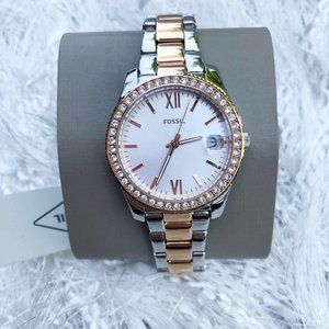 FOSSIL Scarlette Mini Three-Hand Date Watch